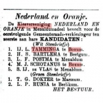 IJ. L. Tamminga gemeenteraadsverkiezing