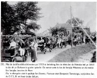 Onafhankelijkheidsfeest 1913 Boksum met Benjamin Tamminga N24